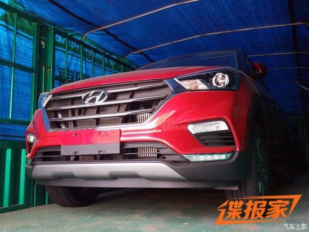 2017成都车展:北京现代新款ix25