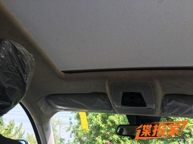 四季度上市 众泰T500更多内饰细节曝光 汽车殿堂