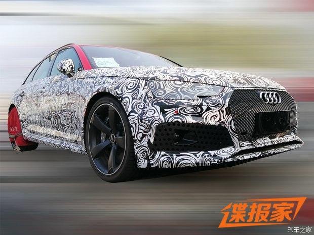 2018年进口 曝奥迪RS 4 Avant国内谍照