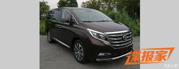 商务MPV新秀 传祺GM8将于广州车展首发
