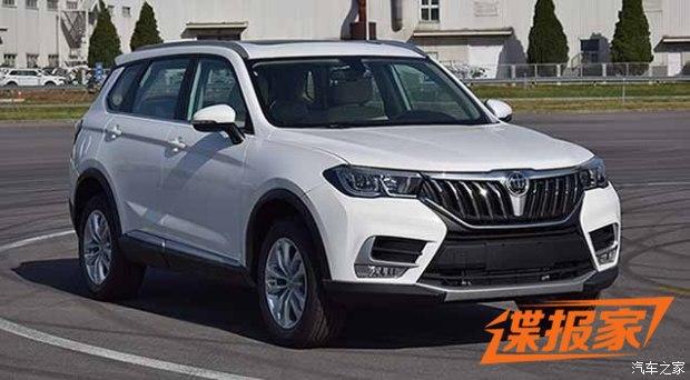 中型SUV/1.6T动力 中华V7申报图曝光