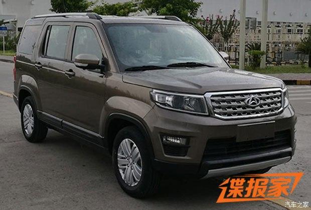 或命名为X70A 长安欧尚全新SUV申报图