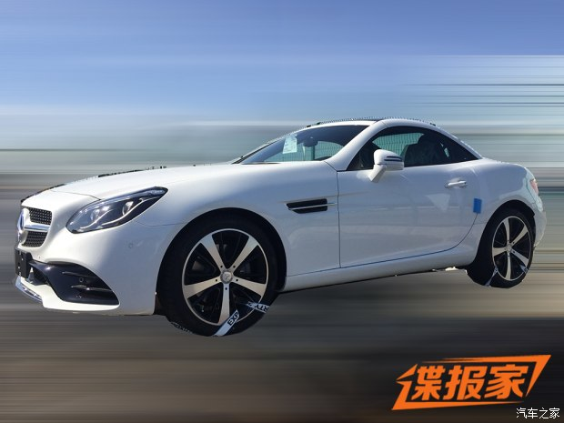 奔驰SLC 200国内谍照曝光 内外全面革新