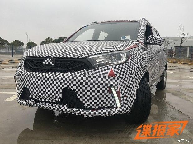 2017年中上市 陆风全新小型SUV谍照曝光
