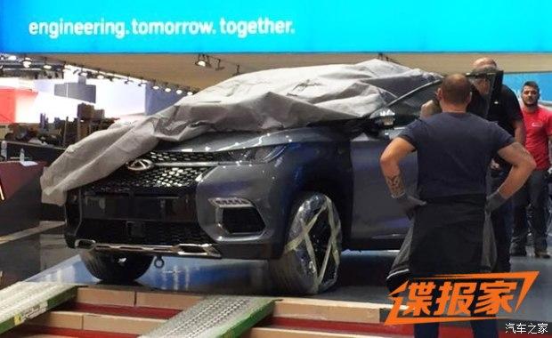 2017法兰克福车展探馆:奇瑞全新SUV