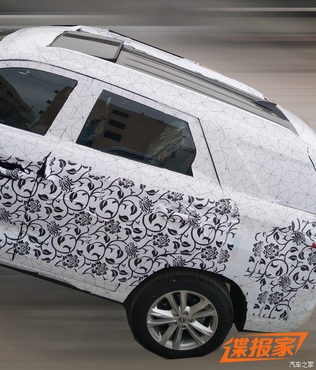前脸设计焕然一新 疑似东风风光全新SUV