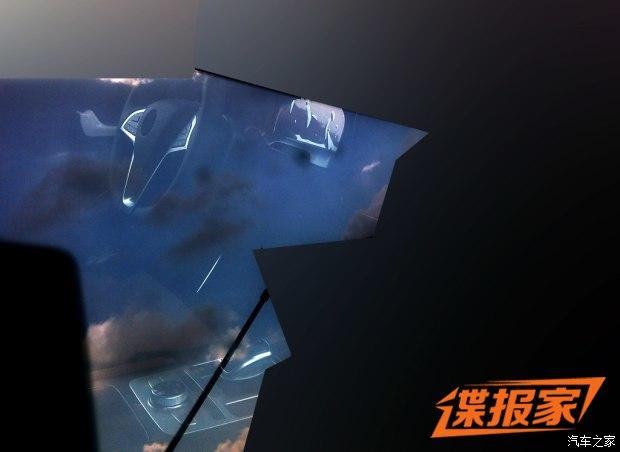 疑似新一代唐 比亚迪全新SUV内饰首曝